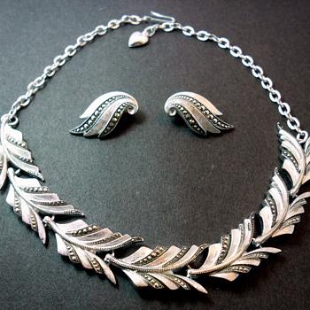 Eloxal Germany Demi-Parure - Costume Jewelry