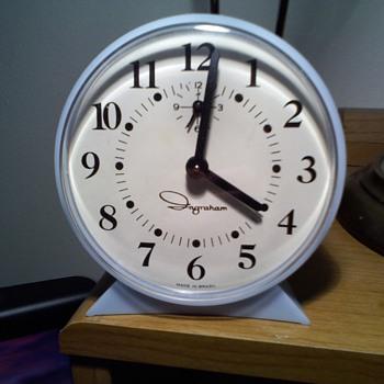 brazil made ingraham alarm clock