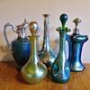 Assorted Loetz decanters