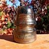 California Glass Insulator Style CD 161 1912-1916