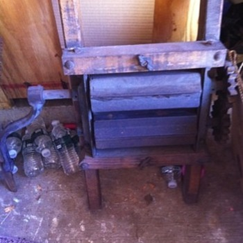 Old wringer or farm press of some sort... - Tools and Hardware