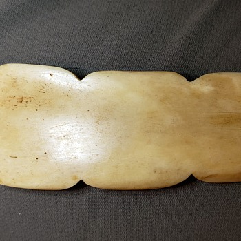 Carved Bone Zoomorphic Pendant - Folk Art