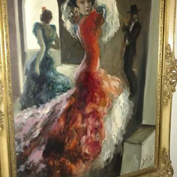 Diego oil painting ..Diego Rivera ? - Fine Art