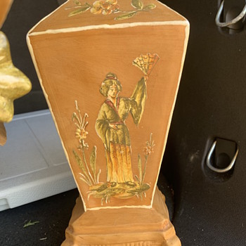2 Made in Italy Terra Cotta vases ~help? - Pottery