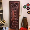 Witco Oceanic Door-Brutalist/Tiki style