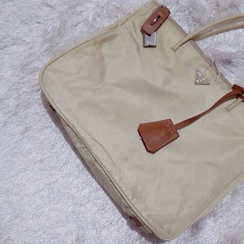 prada nylon bag rare item i dont know what series it is - Accessories