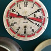 World War 2 Chelsea Radio Room Brass Clock