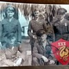 WWII Photo of 5 Men and a Military Patch Need ID of Year Time & Patch Name