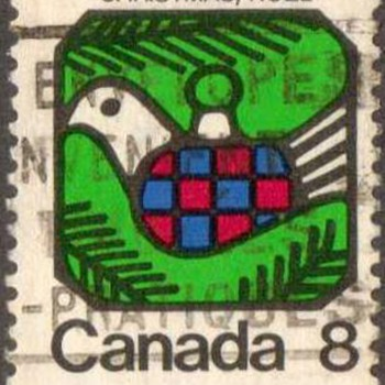 "1973 - Canada ""Christmas"" Postage Stamp"