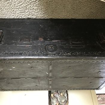 Old Antique Trunk Possibly Belonged to my Great Great Grandmother - Furniture