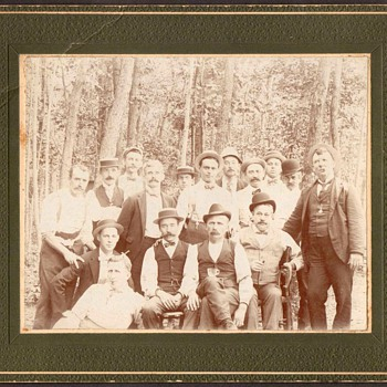 Family Photograph - 16 Dapper Looking Fellows - Photographs