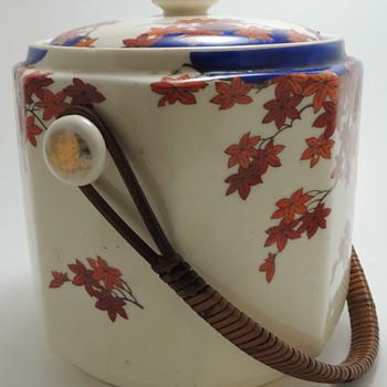 Tea Bag Caddy? Made in Japan  - Asian