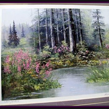 Pair of Prints -- Signed / Numbered -- ROSE SCHUL ( Canadian ) - Fine Art