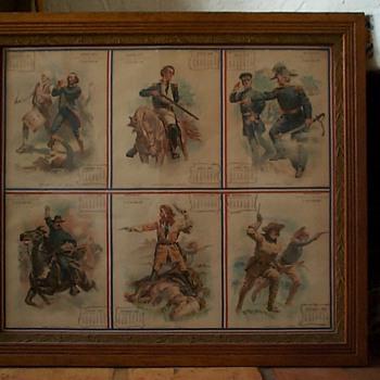 ARMOUR COMPANY 1901 CENTENNIAL MILITARY CALENDAR - Military and Wartime