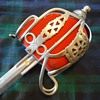 Victorian Highland Regiment Officer's Broadsword