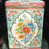 Large Biscuit Tin From England