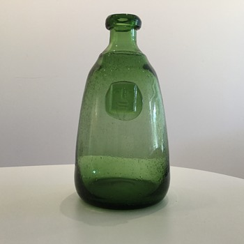 ERIK HÖGLUND, CARAFE, H 981/270 for BODA SWEDEN. - Art Glass