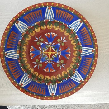 Coulon Ceramic Plate 1884 - Pottery