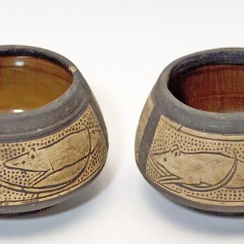 2  bowls ?? - Pottery