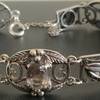 Art and Craft Silver Bracelet - Fine Jewelry