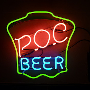 P.O.C Beer neon - Signs