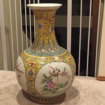 Beautiful asian vase - Asian