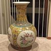 Beautiful asian vase
