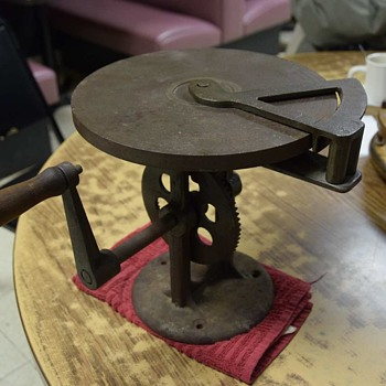 Dave's Crank Table - Tools and Hardware