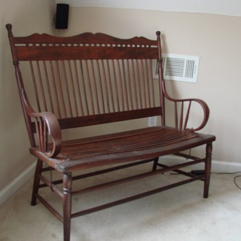 They told me it was a Chestnut Bench !! - Furniture