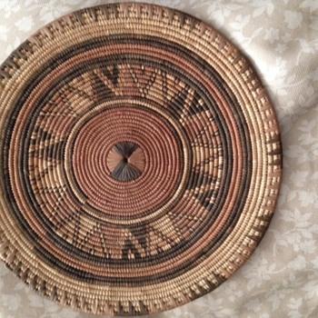 JUST GOT this vintage basket.....HELP!