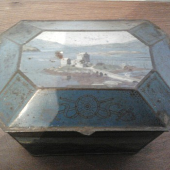 Melrose's tea box - Advertising