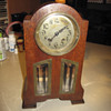 Mauthe Clock 1900 - 1928 Highboy Mantle Clock