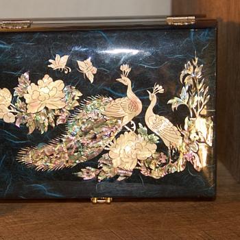 asian jewelry box - Asian
