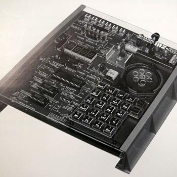 sharp mz 40k from 1978 - Electronics