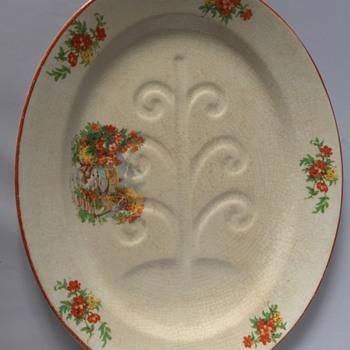 18th century platter? - Pottery