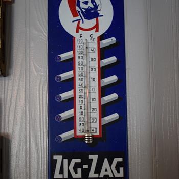 Zig-Zag Thermometer - Tobacciana