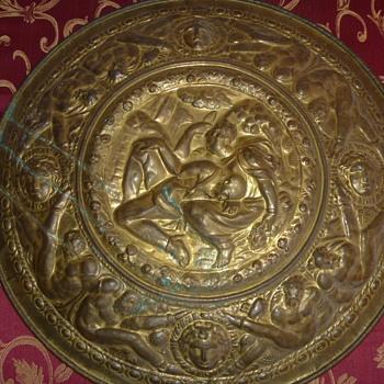 Greek Ornate Display Shield
