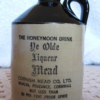 Ye Old Liqueur Mead Jug - China and Dinnerware