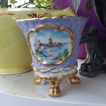 Small Footed Nippon Vase / Cup - China and Dinnerware