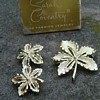 Sarah Coventry Brooch and Earrings - Ivy