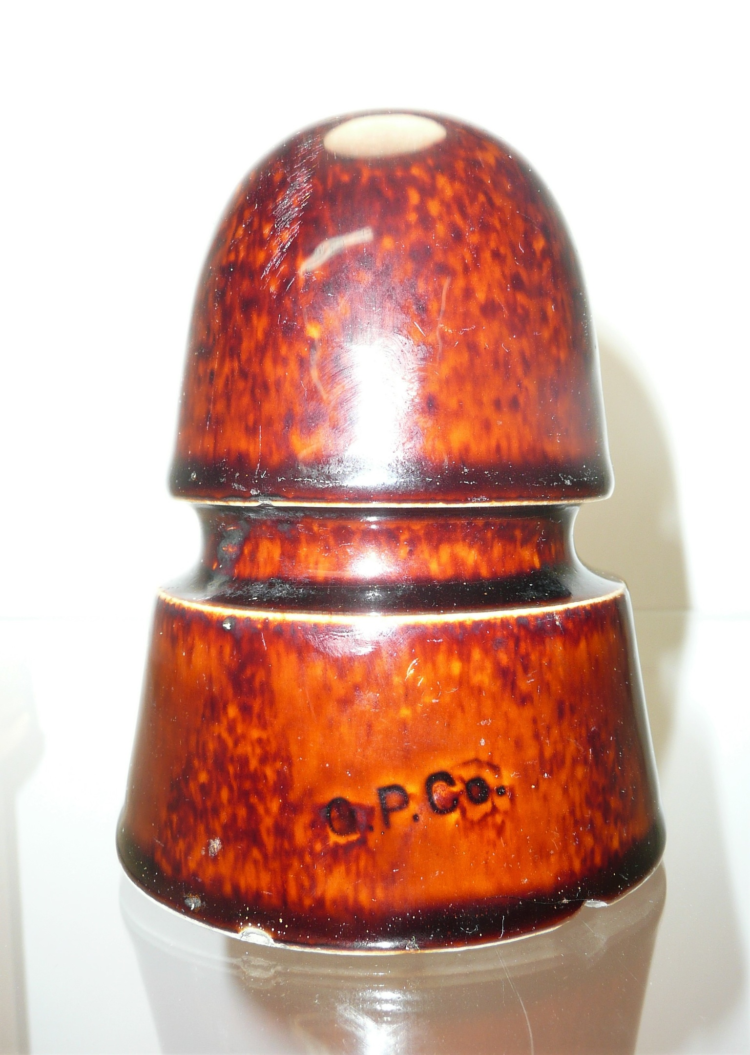 O P  Co  Ceramic Insulator | Collectors Weekly