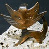 "Vintage Merrifield Canada Hand Made Copper Pin "" CAT "" 1960s"
