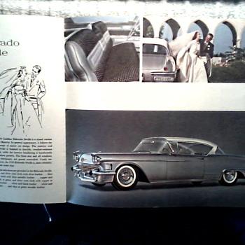 More Cadillac Goodness ! / Cadillac Brochure Part II /Circa 1958