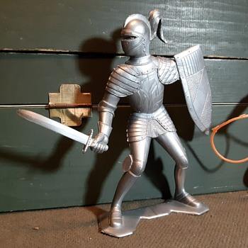 "Marx 6"" Figures Knight and Cowboy With Lasso MCMLXV - Toys"