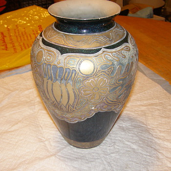 VERY DIFFERANT LOOKING VASE-OR MAYBE POTTERY ART!IM OPEN ON THIS 1 FOR SURE! - Pottery