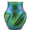 Loetz Crete Ciselé Indented Vase ca 1899