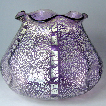 Loetz Violet Argentan 1908 - Art Glass