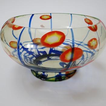 "Ernst Steinwald & Co. - (called Kralik ""Lines & Canes"") - Art Glass"