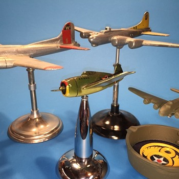 VTG 8th Air Force Period Desk Models from WW2  - Advertising