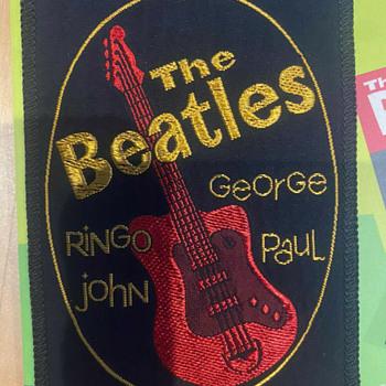 Beatles clothing patch-1964 - Music Memorabilia